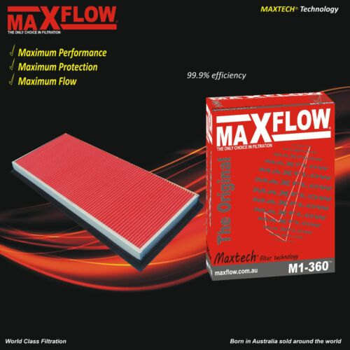 Fit Ryco A360 Subaru Air Filter 2005 Impreza WRX 168kw 2.0L Maxflow® Air Filter