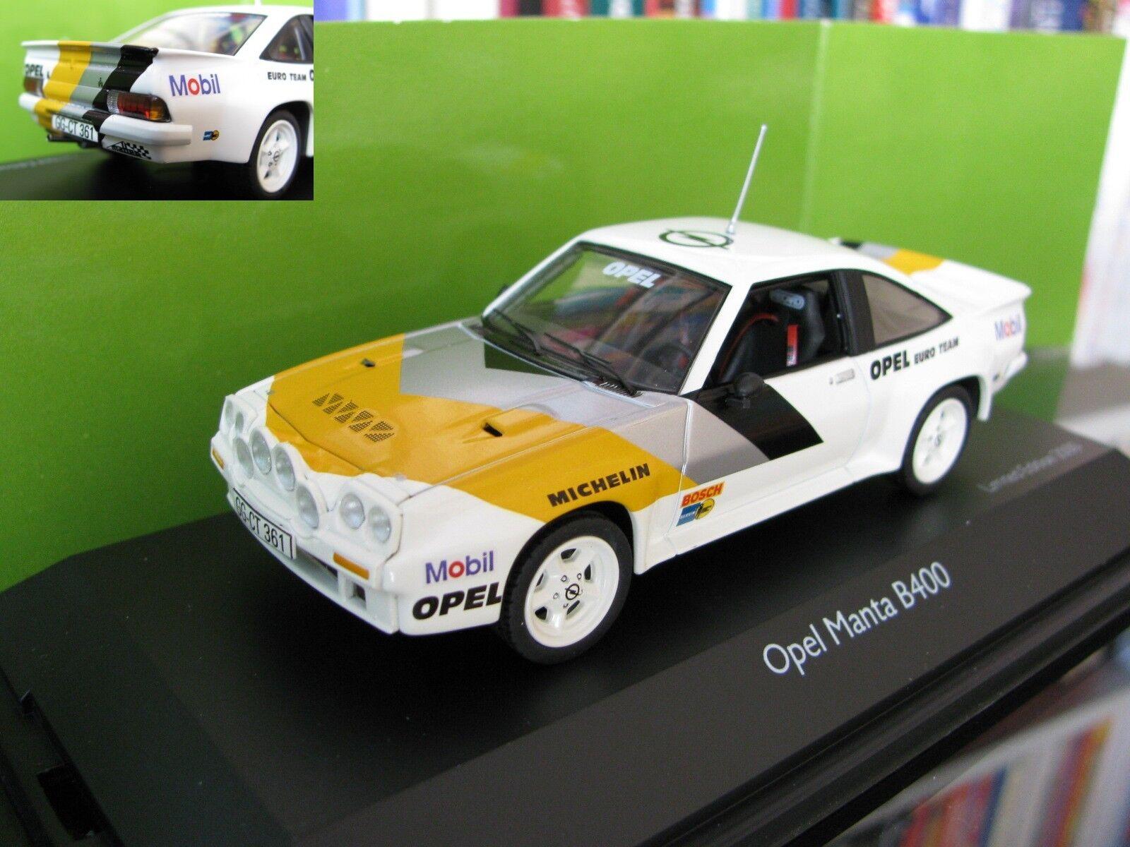 1/43 Schuco Opel Manta B400 Rallye diecast