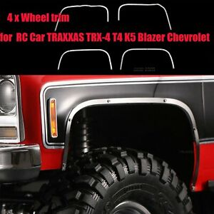 Wheel-Trims-Bright-Strip-Eyebrow-Bar-DJC-0694-for-TRAXXAS-TRX-4-T4-K5-Blazer-RC