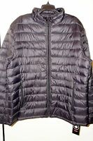 Halifax Men's Nylon Puffer Jacket In Black Size Xl With Tags