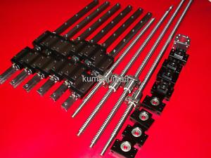 ballscrew-RM2505-300-1350-2600-2600mm-BK-BF20-end-bearing-25mm-Linear-Guideway