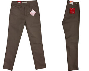 Stooker-Damen-Stretch-Hose-Zermatt-SLIM-FIT-Walnut-Brown