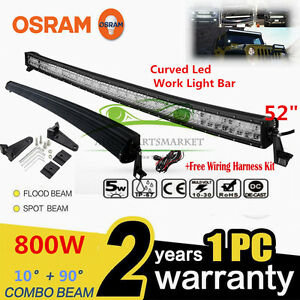 OSRAM-CURVED-800W-52inch-LED-Combo-Work-Light-Bar-Offroad-Driving-Lamp-SUV-ATV