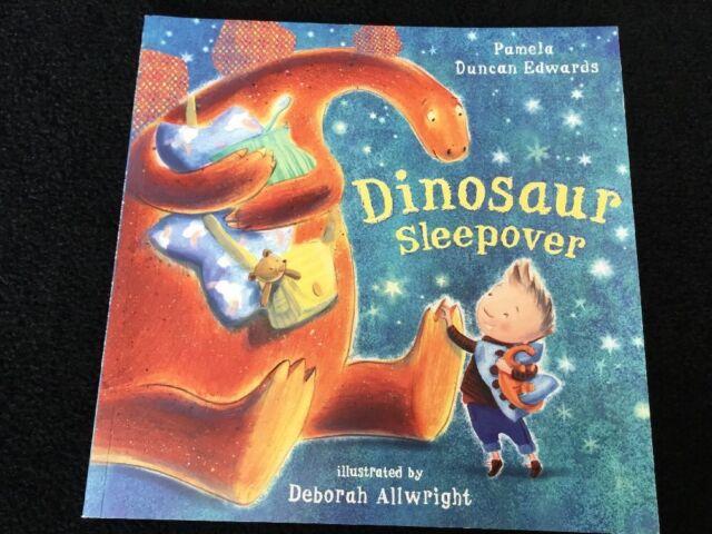 Dinosaur Sleepover, Pamela Duncan Edwards Used; Very Good Book