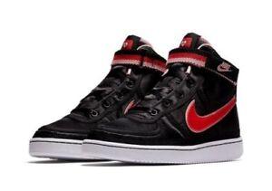 801f7058698 Girls Nike Vandal High Supreme QS (GS) AQ3713-001 Black Speed Red ...