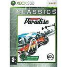 Xbox 360 X360 Burnout Paradise EU VideoGames