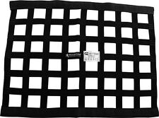 RACECAR WINDOW NET 10X18 BLACK BORDER STYLE SHORT LOW ROOF LINE DIRT MODIFIEDS