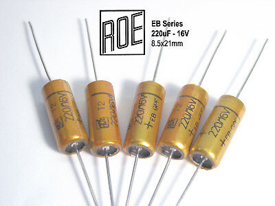 63V ROE axial EB Series Audio Grade Electrolytic capacitors  x 5 PIECES 47uF