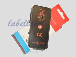 Control remoto inalámbrico IR para Sony A7r A7r A7s A7s A9 A6000 II III A6300 A6500