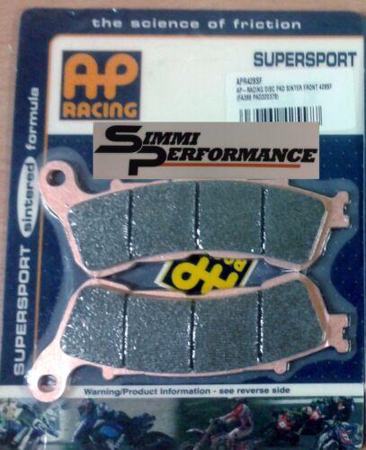 AP Racing plaquettes frein Avant HONDA NC700 S//X ABS 2012 2013 2014 APR428SF Sinter