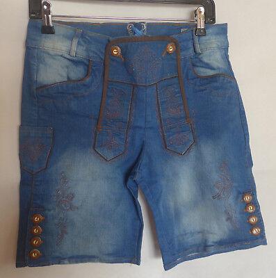 Rottaler Damen Trachten Jeans Shorts kurze Hose blau Gr. 36 38 40 42 44 46 48 | eBay