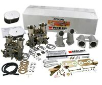 Weber Carburetor Kit Vw Bus Type 2 Type 4 Porsche 914 Dual 44 Idf's