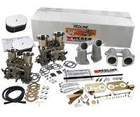 Weber Carburetor Kit Vw Bus Type 2 Type 4 Porsche 914 Dual 44 Idf's