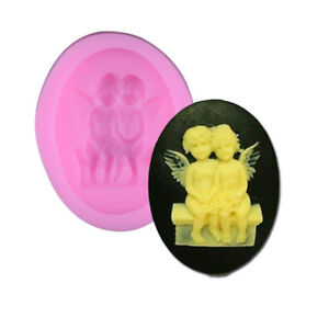 3D-Silicone-Pair-Angel-Mold-Fondant-Mould-Sugar-Craft-Soap-Cake-Decorating-Tools