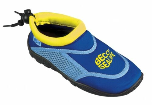 und Badeschuhe SEALIFE blau Badeschuhe Kinder Beco Surf