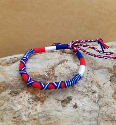Friendship Bracelet Adjustable Kids Women Handmade boho cotton cord Beach Surfer