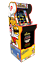 Arcade1up-Burger-time-Arcade-1up-Cabinet-Machine-Retro-Riser-Light-Up-Marquee miniature 1