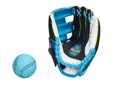 Franklin Teeball Fielding Glove-air-tech Sport (con Ball), Luce, Baseball,-mostra Il Titolo Originale
