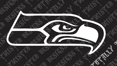 """SEATTLE SEAHAWKS DECAL STICKER    FREE US SHIP  Many Colors 8/"""" x 2.5/"""""""