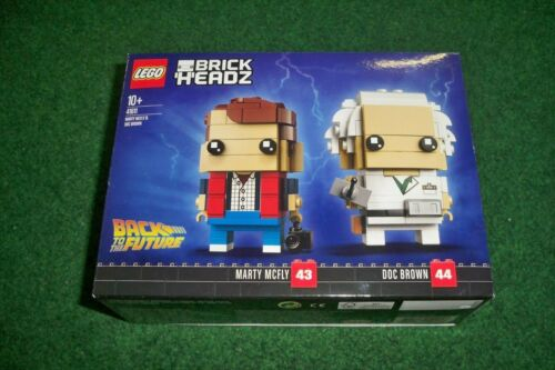Lego Brick Headz 41611 Marty McFly et Doc Brown **