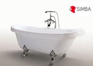 Details About Classic Bathtub Free Standing Retro Vintage Mod Margherita