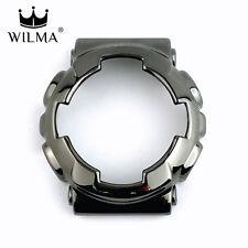 WILMA Chrome Black Metal Bezel FOR G-Shock GA-110 / GA-120 / GD-100 (C-110-2A)
