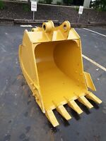 """New 36"""" Caterpillar 311 / 312 / E120B Excavator Bucket with Side Cutters"""