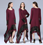 Women-Lace-Abaya-Islamic-Irregular-Maxi-Dress-Muslim-Kaftan-Jilbab-Dubai-Robe thumbnail 1