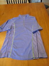 Womens Monterey Club Dry Swing 1/4 Zip Golf Shirt, N w/o T, S