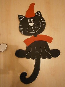 """Schultüte Motiv /""""Kitty Katze/"""" mit Schal und Mütze schwarz"""
