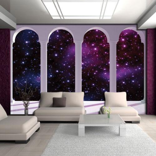 Vlies Fototapeten Tapete Ausblick Säule Himmel Kosmos Stern Foto 14N2359VEXXXL