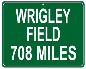 Details about Chicago Cubs Wrigley Field LARGE 12