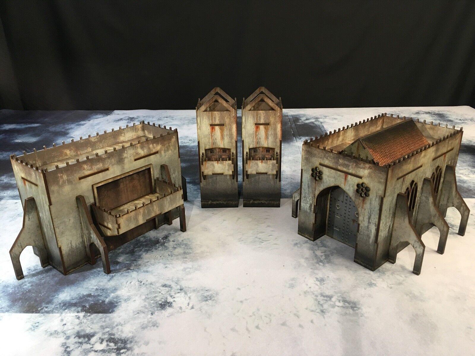 Desecration City terrain bundle1, Warhammer 40000, bolt action, Warhammer 40k