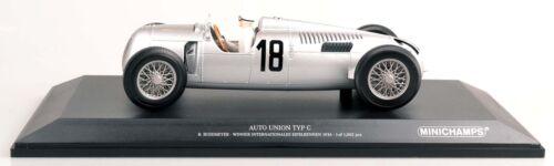 MINICHAMPS 155361018 Auto Union Typ C B.Rosemeyer Eifelrennen 1936 1:18 NEU//OVP