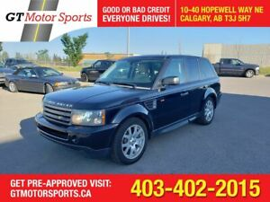 2008 Land Rover Range Rover Sport HSE  | $0 DOWN - EVERYONE APPROVED!