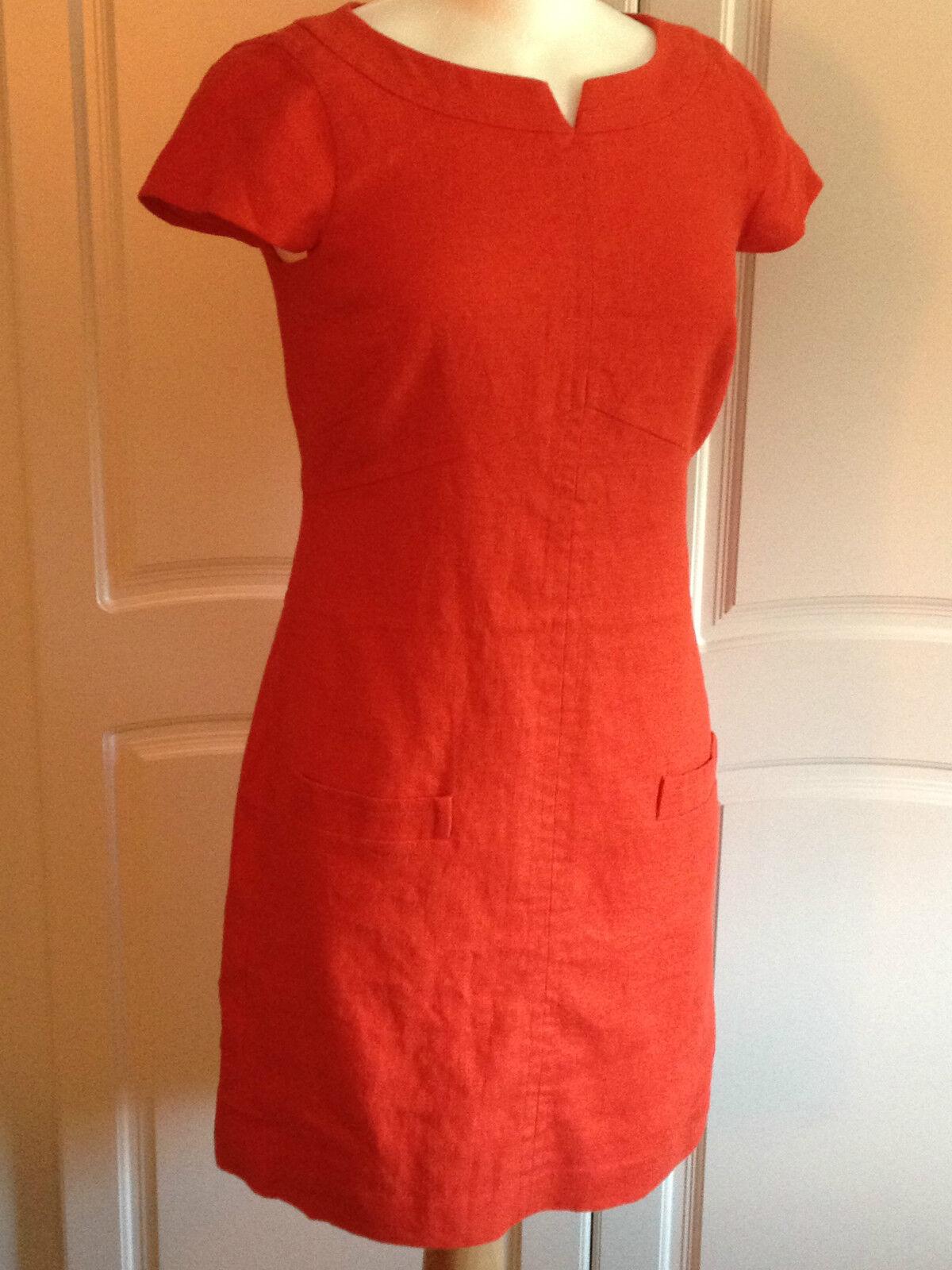 BODEN Last few damen Linen Barnsbury Shift Dress Tunic Linen Linen Linen UK Größes 6R 8L   Tragen-wider    Schenken Sie Ihrem Kind eine glückliche Kindheit  e7dab4