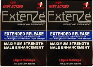 Extenze Extended Release Maximum Strength Fast Acting Male