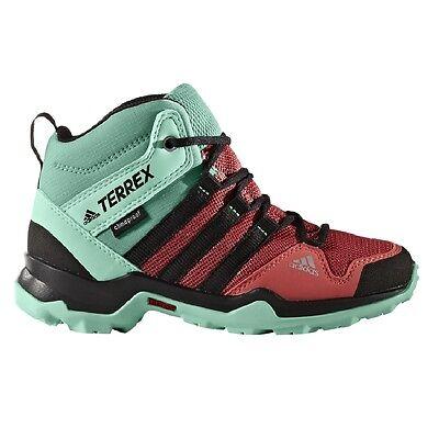 adidas Terrex AX2R MID CP Kinder Wanderstiefel rot Outdoorschuhe Kids BB1939