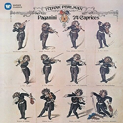 Itzhak Perlman - Paganini: 24 Caprices [New CD]
