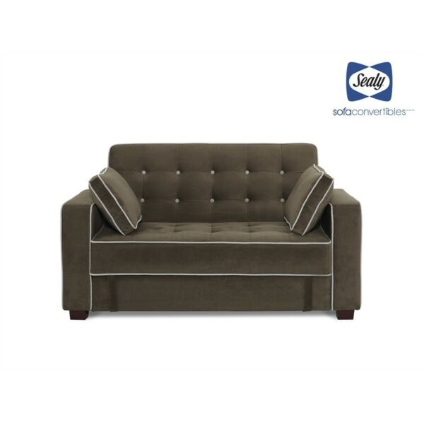 Tremendous Sealy Belize Transitional Loveseat And Ottoman With Storage Evergreenethics Interior Chair Design Evergreenethicsorg