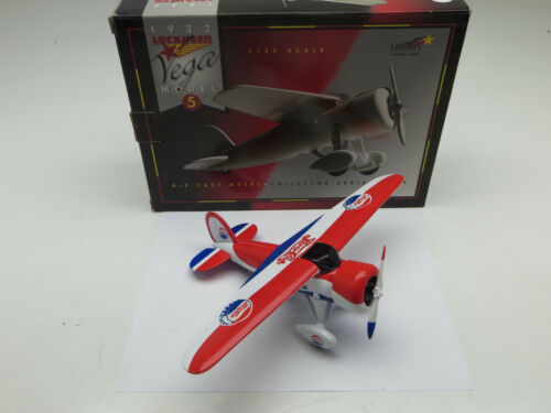 Racing Champions 1932 Lockheed Vega 5 Pepsi Airplane Die Cast Bank #35036