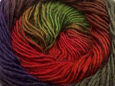 Primadonna Renaissance Ice Fine Baby Weight SelfStriping Wool Ac Yarn 100g 40631