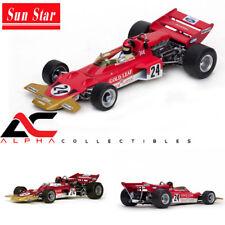 fittipaldi 1970 1:18 Quartzo Lotus 72c winner gp EE UU