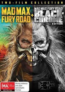 MAD-MAX-FURY-ROAD-black-chrome-edition-DVD-PAL-4-SEALED-FREE-LOCAL-POST
