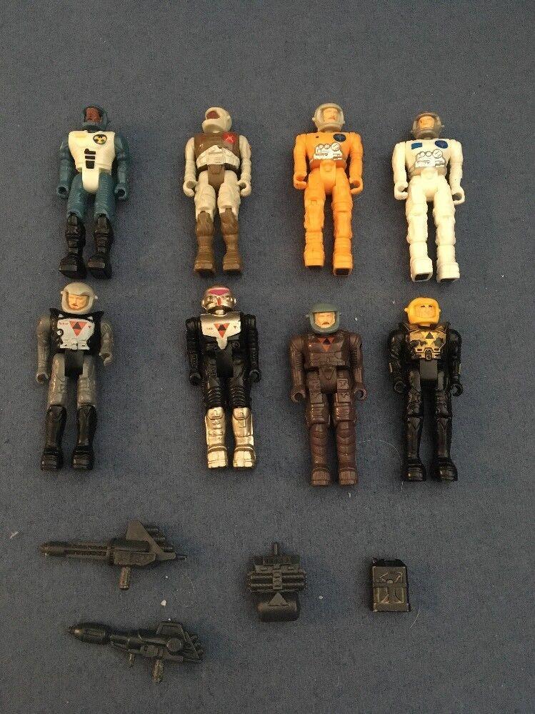 8 Starcom Figures - Agon-6, Sgt Von Rodd, Rodd, Rodd, PFC John Etc. Vintage Retro 5ffb5a