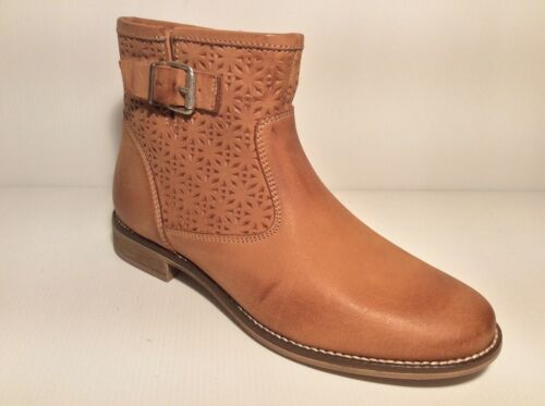 Bottes À Gros Col Ellen Blake Cuir Talon Bas Femme Bottines Chaussures 1628 TqdwEff