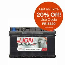 Lion 100 Car Battery (extra 20% off today)
