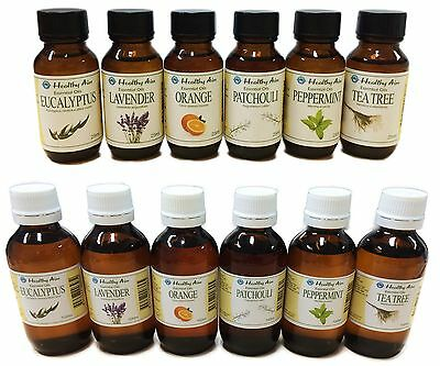 ESSENTIAL OILS - 100% Pure Uncut Premium Grade - Healthy Aim Aromatherapy