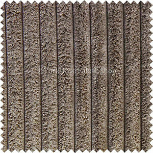 doux pais chunky super g ant velours c tel tapisserie tissu mat riel marron ebay. Black Bedroom Furniture Sets. Home Design Ideas