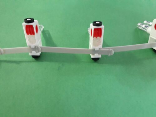 25 Carriers in a Roll With 79mm Plastic Spacer for Vertical Blinds//Shades